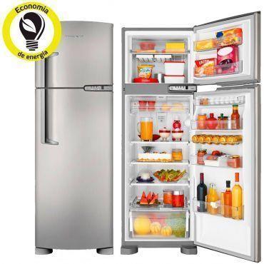 Refrigerador | Geladeira Brastemp clean Frost Free 2 Portas 378 Litros Evox - BRM42EK
