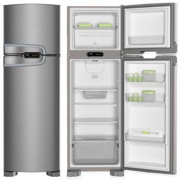 Refrigerador Geladeira Consul Frost Free 2 Portas 275 Litros Evox - CRM35NK