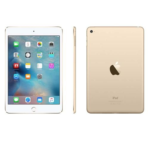 iPad Mini 4 Apple com Wi-Fi, Tela 7,9'', Sensor Touch ID, Bluetooth, Câmera iSight 8MP, FaceTime HD e iOS 9 - Dourado