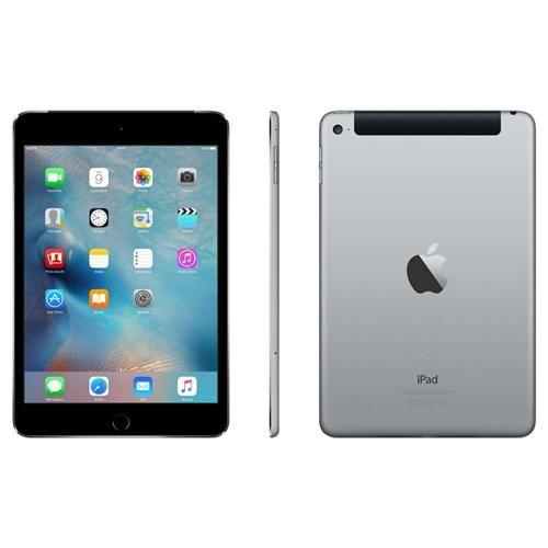 iPad Mini 4 Apple com Wi-Fi + Cellular, Tela 7,9'', Sensor Touch ID, Bluetooth, Câmera iSight 8MP, FaceTime HD e iOS 9 - Cinza Especial