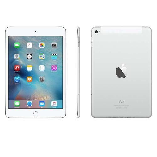 iPad Mini 4 Apple com Wi-Fi + Cellular, Tela 7,9'', Sensor Touch ID, Bluetooth, Câmera iSight 8MP, FaceTime HD e iOS 9 - Prateado