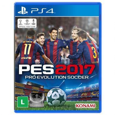 Jogo Pro Evolution Soccer 2017 (PES 2017) para Playstation 4 (PS4) - Konami