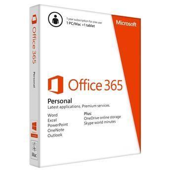 Office 365 Personal Microsoft para 1 PC ou MAC + 1 Tablet QQ2-00108