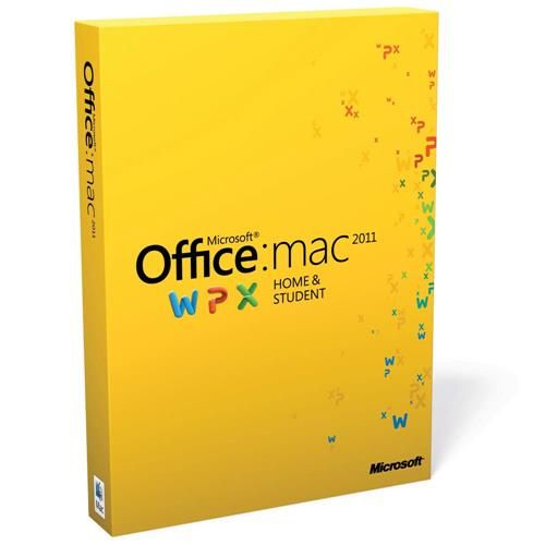 Microsoft Office Home & Student 2011 GZA-00276 para Mac