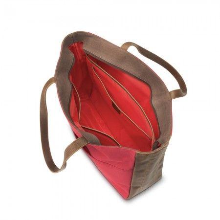Bolsa Para Notebook 14'' VENETIAN V1M57AAABL Vermelha/Marrom HP