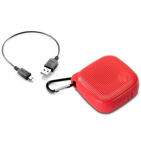 Caixa Multimídia 3W RMS Bluetooth S300 Vermelha HP