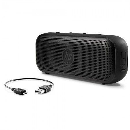 Caixa Multimídia 4W RMS Bluetooth S400 Preta HP