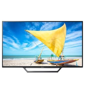"Smart TV LED 48"" Sony KDL-48W655D Full HD com Conversor Digital 2 HDMI 2 USB Wi-Fi integrado Tecnologia X-Reality Pro"