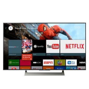 Smart Android TV 4K HDR de LED Ultra HD XBR-55X905E série X905E