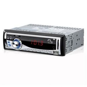Auto Rádio Som de Carro 45w Automotivo Silver Usb Sd Aux Mp3 - MLS8 P3167