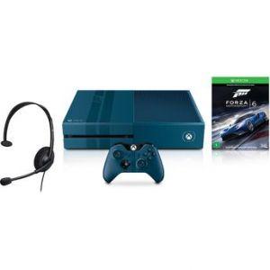 Console Xbox One 1TB Edição Especial Forza + Jogo Forza Motorsport 6 Microsoft (Via Download)