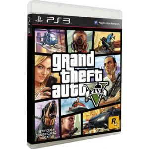 Jogo PS3 GTA - Grand Theft Auto V - Rockstar