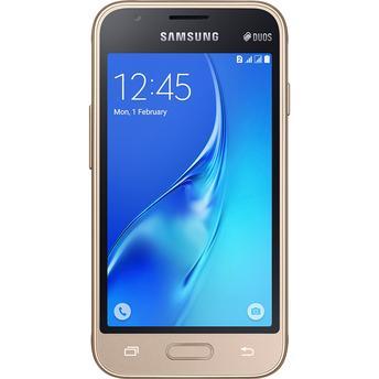 Smartphone Samsung Galaxy J1 Mini SM-J105B/DL Dourado Dual Chip Android 5.1 Lollipop 3G Wi-Fi Câmera Traseira de 5 MP