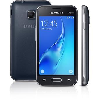 Smartphone Samsung Galaxy J1 Mini SM-J105B/DL Preto Dual Chip Android 5.1 Lollipop 3G Wi-Fi Câmera Traseira de 5 MP