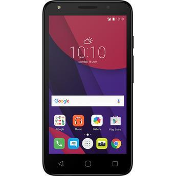 Smartphone Alcatel Pixi4 5010E Preto Dual Chip Android 6.0 3G Wi-Fi com TV Digital Memória Total 16GB