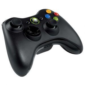 Controle Wireless Microsoft Preto - Xbox 360