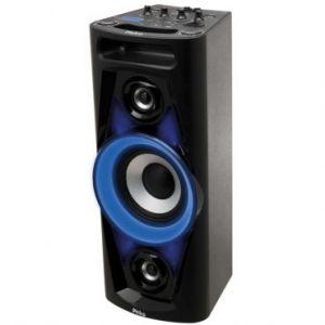 Caixa Acústica Philco PHT3000 - 100W Bluetooth, Dual USB, Rádio FM, Entrada para Guitarra e Auxiliar, Bateria com autonomia de até 4h